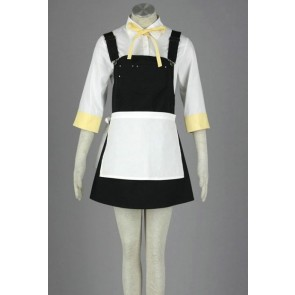 Vocaloid Kagamine Rin Maid Cosplay Costume
