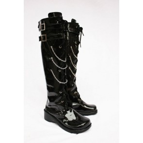 Vocaloid Kagamine Rin Faux Leather Cosplay Boots