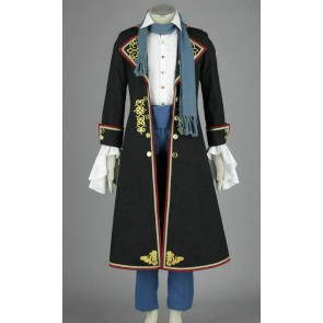 Vocaloid Kaito Black Cosplay Costume