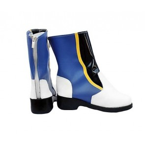Vocaloid Kaito Blue Cosplay Boots