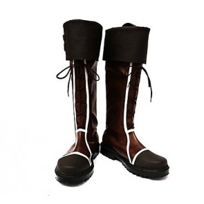 Vocaloid Len&Rin Brown Cosplay Boots