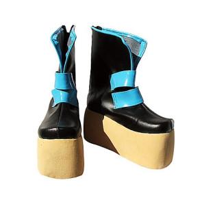 Vocaloid Miku Black Cosplay Boots