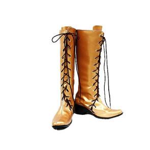 Vocaloid Miku Brown Cosplay Boots