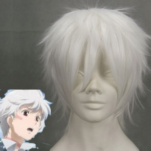 White 32cm Future City No.6 Shion Cosplay Wig