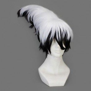 White And Black 45cm Nura: Rise of the Yokai Clan Rikuo Nura Cosplay Wig