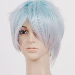 White Blue Homare Kanakubo Cosplay Wig