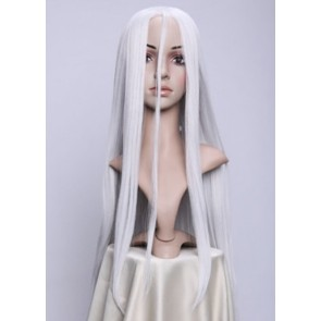 White Deadman Wonderland Shiro Cosplay Wig