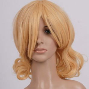 Yellow France Cosplay Wig