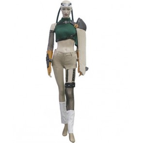 Final Fantasy 7 Yuffie Kisaragi Cosplay Costume