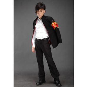 Katekyo Hitman Reborn! Hibari Kyoya Cosplay Costume