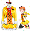 Love Live! The School Idol Movie Sunny Day Song Rin Hoshizora Cosplay Costume
