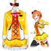 Love Live! The School Idol Movie Sunny Day Song Rin Hoshizora Cosplay Costume