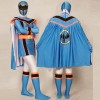Blue Power Rangers Mystic Uniform Spandex Zentai Costume