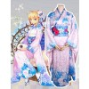 Fate/Stay night Saber Kimono Cosplay Costume