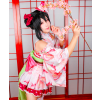 Love Live! Nico Yazawa September Ver. Kimono Cosplay Costume