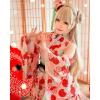 Love Live! Kotori Minami September Ver. Kimono Cosplay Costume