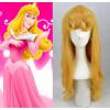 Yellow Sleeping Beauty Princess Aurora Cosplay Wig
