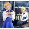 Fate/Zero Saber Blue Cosplay Dress
