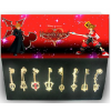 Golden Kingdom Hearts Pendant Set