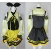 Vocaloid Alice Human Sacrifice Kagamine Rin Cosplay Costume