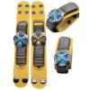 Blue Katekyo Hitman Reborn Yellow Cowhide Cosplay Hand Strap