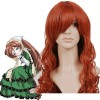Brownish Red 90cm Rozen Maiden Suiseiseki Nylon Cosplay Wig
