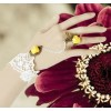 Charming Handmade Floral Lolita Bracelet And Ring Set