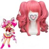 Pink 40cm Sailor Moon Chibi Usa Cosplay Wig