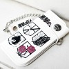 White Attack On Titan Cosplay Purse